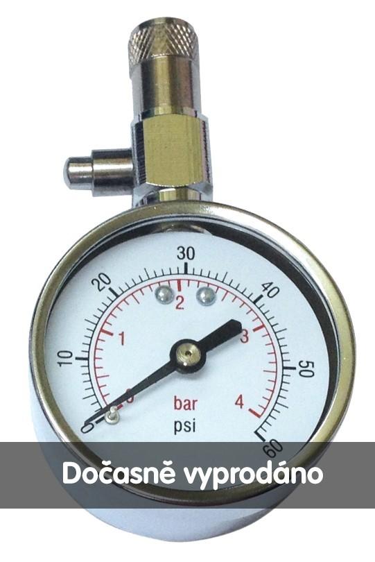 Ohrievač fliaš Pneuměřič SATURN kovový stříbrný 5cm ROZBALENO