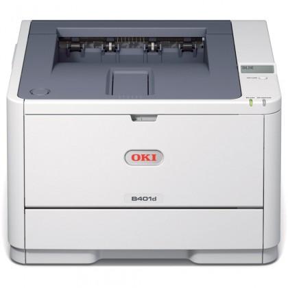 Oki B401d A4 29 ppm 2400x600 dpi,PCL,USB 2.0,LPT