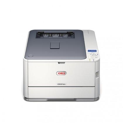 Oki C531dn, A4 30/26 ppm, ProQ2400 dpi, 256MB, USB + LAN, duplex