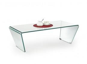 Olimpia - Konferenčný stolík skleněný ohýbaný (transparentná)