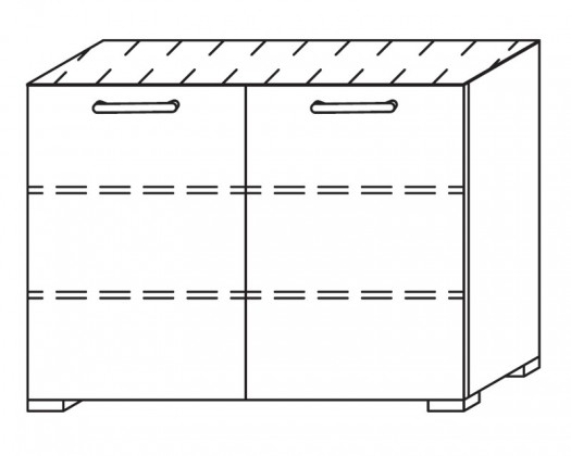 Onella - Komoda, 2x dvere