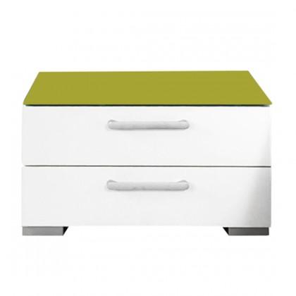 Onella - Nočný stolík, 2x zásuvka, zmontované