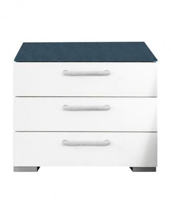 Onella - Nočný stolík, 3x zásuvka, zmontované