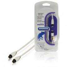 Optický audio kábel Bandridge BBM25000W20, 2m