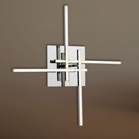 Orbit - Nástenné svietidlo, LED (chróm)