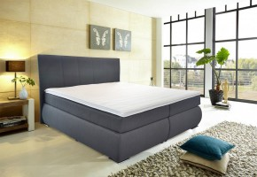 Orlando - Boxspring, 200x180, matrace (bravo 13 anthra)