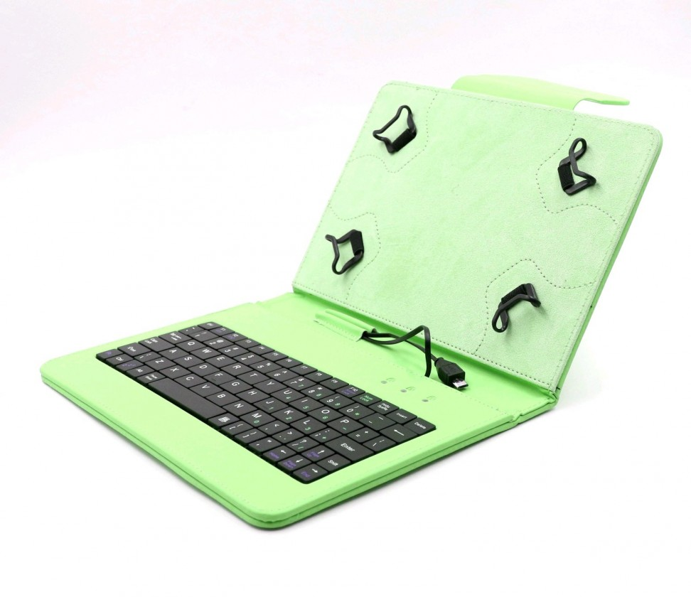 """Ostatné C-TECH PROTECT pouzdro s klávesnicí 7""""-7,85"""" NUTKC-01, zelené ROZ"""