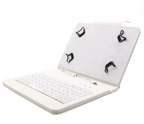 """Ostatné C-TECH PROTECT puzdro s klávesnicou 9,7 """"-10,1"""" NUTKC-04, biele"""