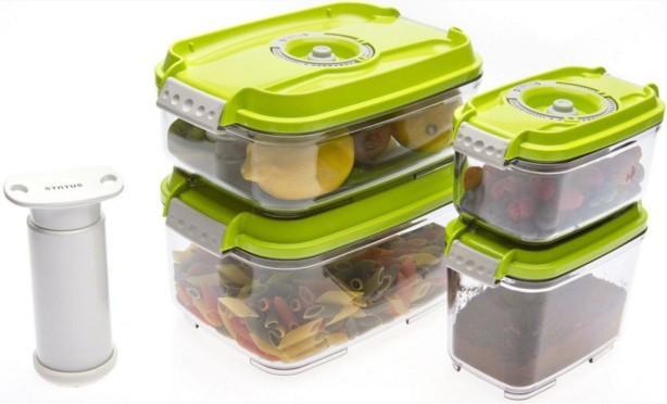 Ostatné kuchynské potreby Status 157531, 5 dielny set (zelená)
