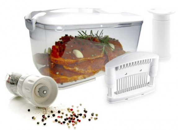Ostatné kuchynské potreby STATUS 4 dílný barbecue set (STA 199100)