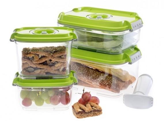 Ostatné kuchynské potreby Vakubox Status 157531, 5 dielny set, zelený