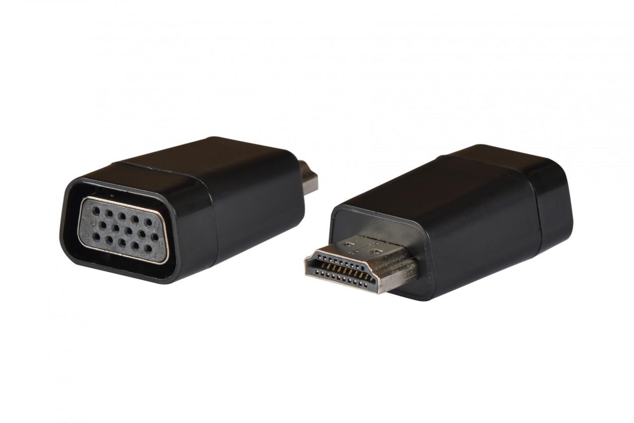 Ostatné príslušenstvo Adaptér HDMI / VGA AQ OK107R
