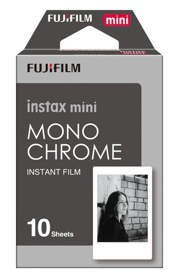 Ostatné príslušenstvo foto Fotopapier Fujifilm Instax Mini MONOCHROME 10ks