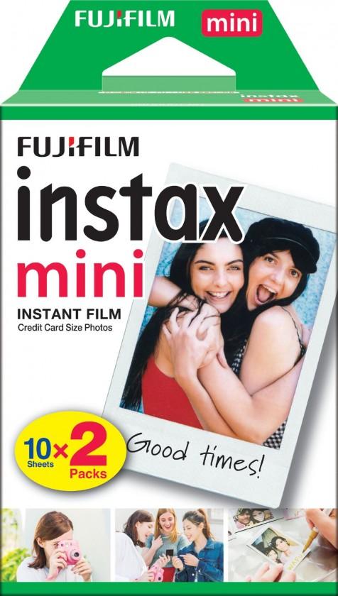 Ostatné príslušenstvo foto Fotopapier pre Fujifilm Instax Mini, 20ks