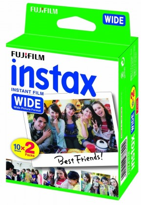 Ostatné príslušenstvo foto Fotopapier pre Fujifilm Instax Wide, 20ks