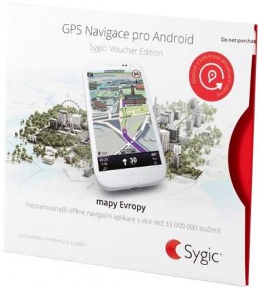 Ostatné príslušenstvo Sygic GPS navigace pro Android (Voucher Edice)