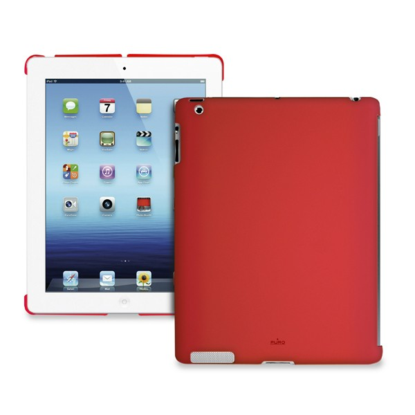 Ostatné Puro puzdro Cover iPad Back červené