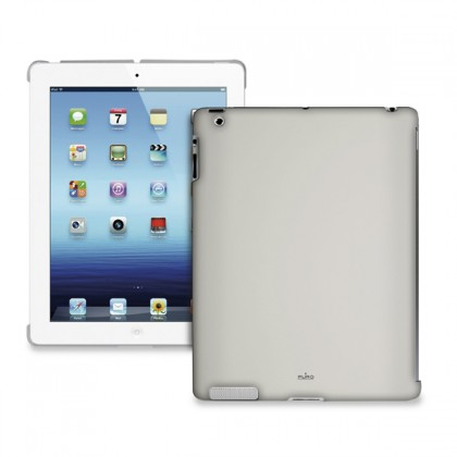 Ostatné Puro puzdro Cover iPad Back šedé