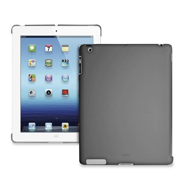 Ostatné Puro puzdro Cover iPad Back tmavo šedé