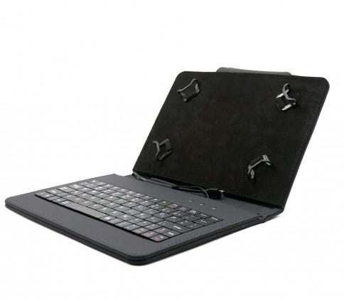 """Ostatné Puzdro s klávesnicou C-TECH Protect pre tablet 8"""", čierna"""