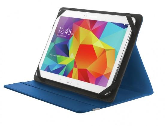 """Ostatné Puzdro s podstavcom Trust Primo Folio Case pre tablet 10"""", modrá"""