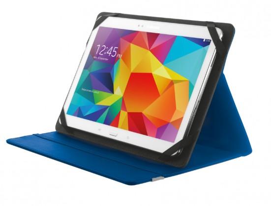 "Ostatné Puzdro s podstavcom Trust Primo Folio Case pre tablet 10"",modré"