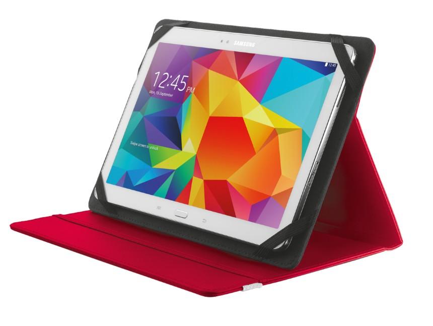"Ostatné Puzdro s podstavcom Trust Primo Folio Case, tablet 10"", červené"