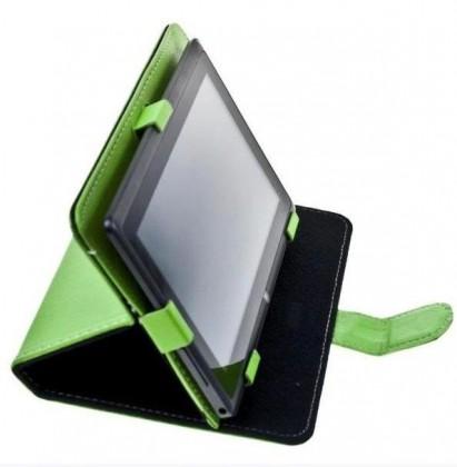 """Ostatné Puzdro Tablet Book 7"""" green (195x120mm), so stojanom"""