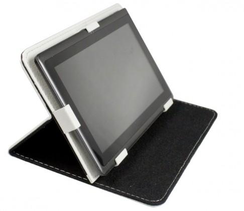 """Ostatné Puzdro Tablet Book 7"""" white (195x120mm), so stojanom"""