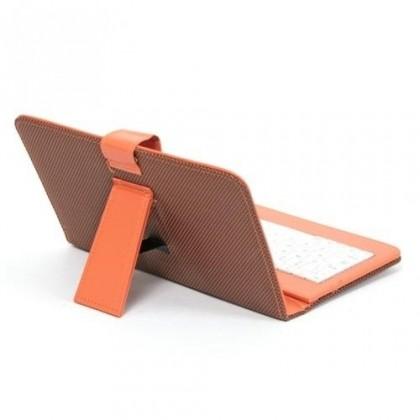 """Ostatné Tablet pouzdro s klávesnicí OMEGA OCT7KBIB, 7"""" oranž ROZBALENO"""