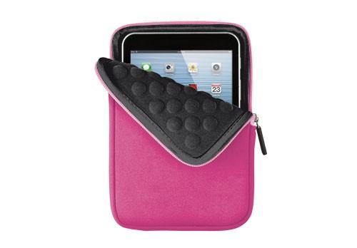 "Ostatné Trust 7"" Anti-shock Bubble Sleeve pre tablet, ružová"