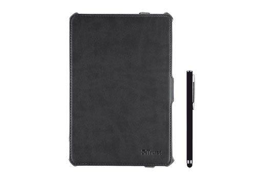 Ostatné Trust Hardcover Skin & Folio Stand for iPad mini with stylus pen