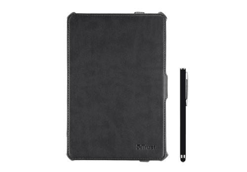 Ostatné Trust Hardcover Skin & Folio Stand for iPad mini with stylus pen
