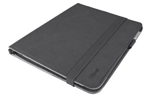Ostatné Trust Premium Folio Stand for iPad - black