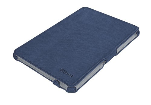 Ostatné Trust Stile Hardcover Skin & Folio Stand for iPad mini - blue