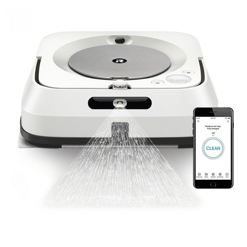 Ostatné značky vysávačov Robotický mop iRobot Braava jet m6, WiFi