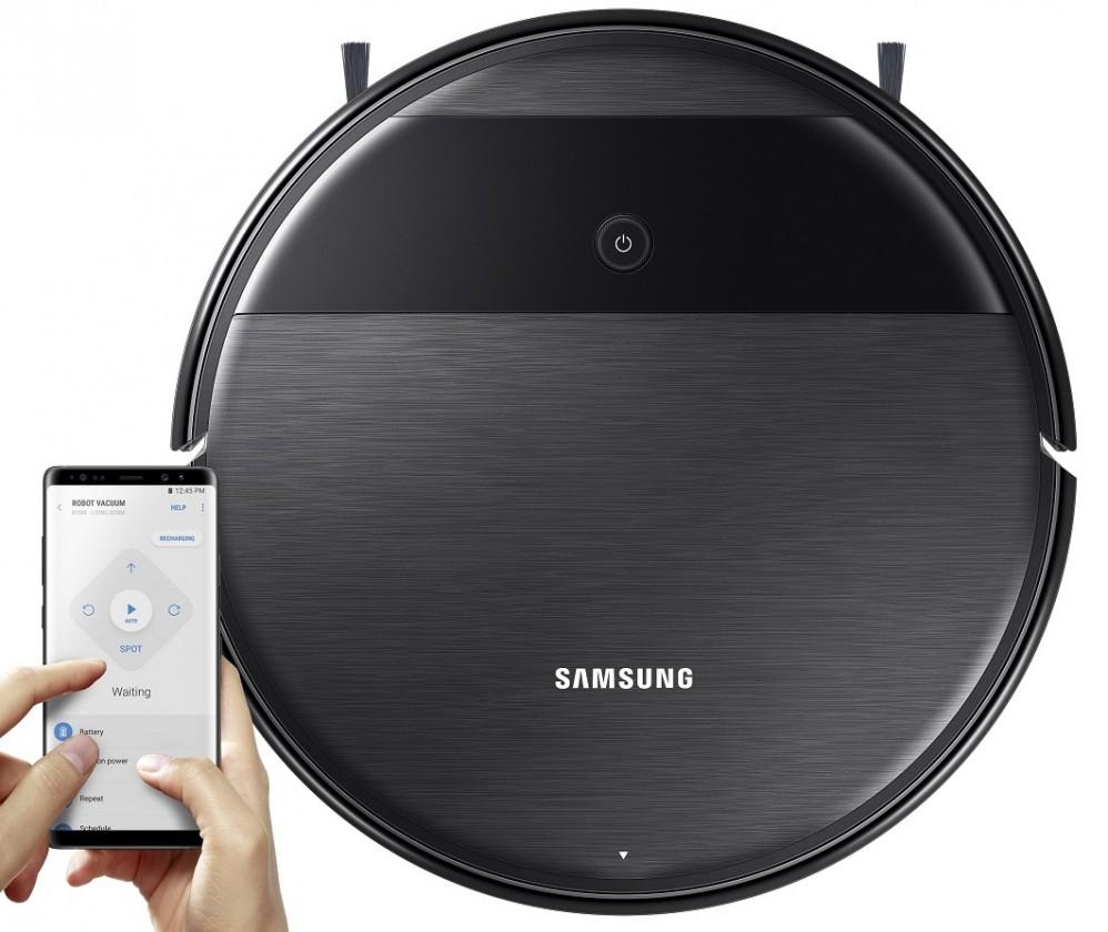 Ostatné značky vysávačov Robotický vysávač Samsung VR05R5050WKWB,2v1,150 m2