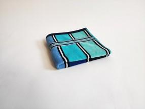 Osuška Rainbow (modrá, 70x140 cm)