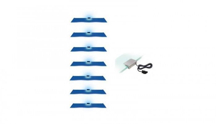 Osvetlenie CAMA 7 LED modrá