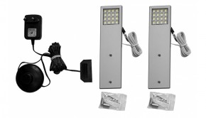 Osvetlenie IZ92 (biela/Hliník)