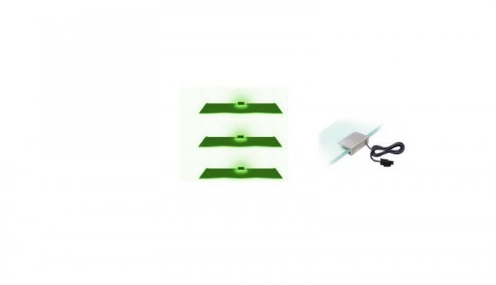 Osvetlenie Osvetlenie - 3 LED (zelená)