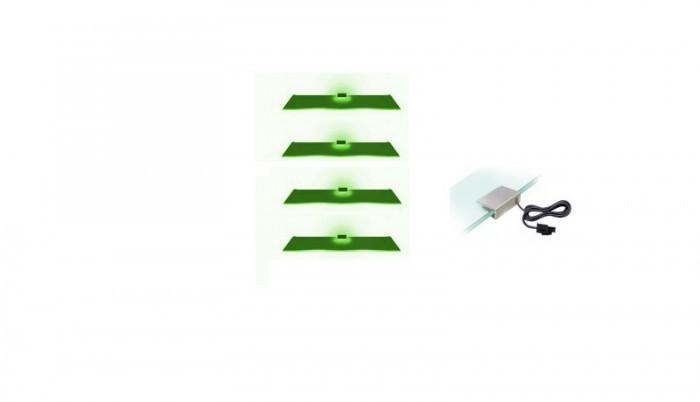 Osvetlenie Osvetlenie - 4 LED (zelená)