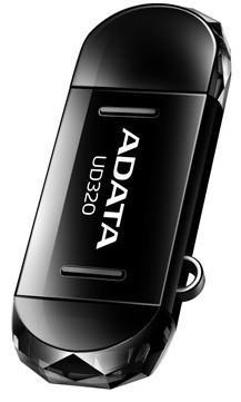 OTG flash disky ADATA UD320 16GB, OTG, (micro USB), čierný