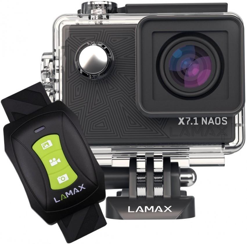 """Outdoorová kamera Akčná kamera Lamax X7.1 Naos 2"""", 4K, WiFi, 170° + prísl."""