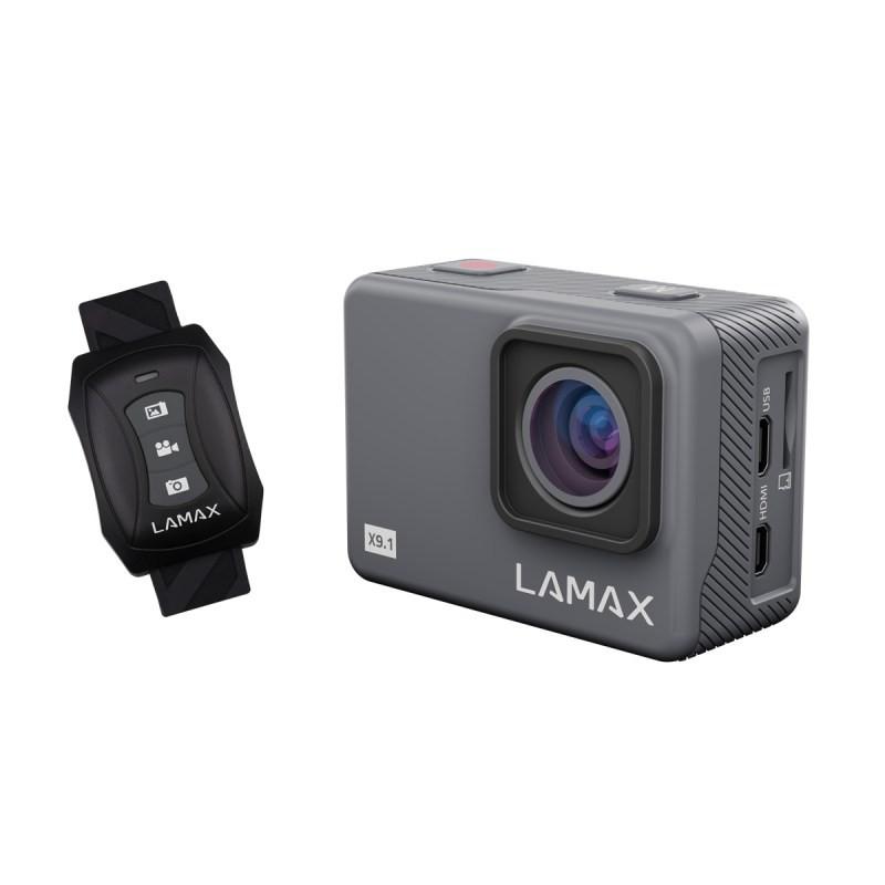 """Outdoorová kamera Akčná kamera Lamax X9.1 2"""", 4K, WiFi, 170° + prísl."""