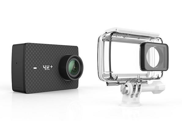 Outdoorová kamera Akčná kamera Xiaomi YI 4K+, WiFi, záber až 155° + vodeodolný kryt