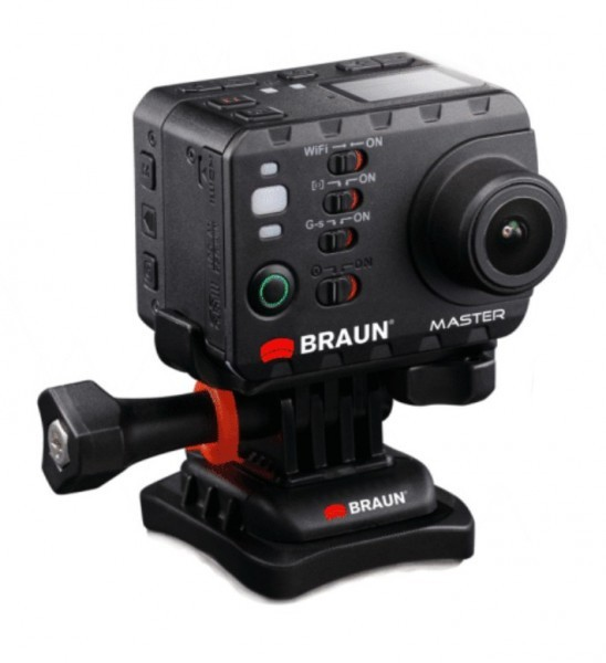 Outdoorová kamera BRAUN Master (full HD/60 fps, microSD)