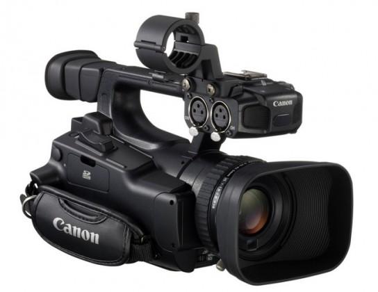 Outdoorová kamera Canon XF100 profi kamera