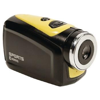 Outdoorová kamera KÖNIG akční HD kamera 720p 5 MP s vodotěsným pouzdrem - POUŽITÉ