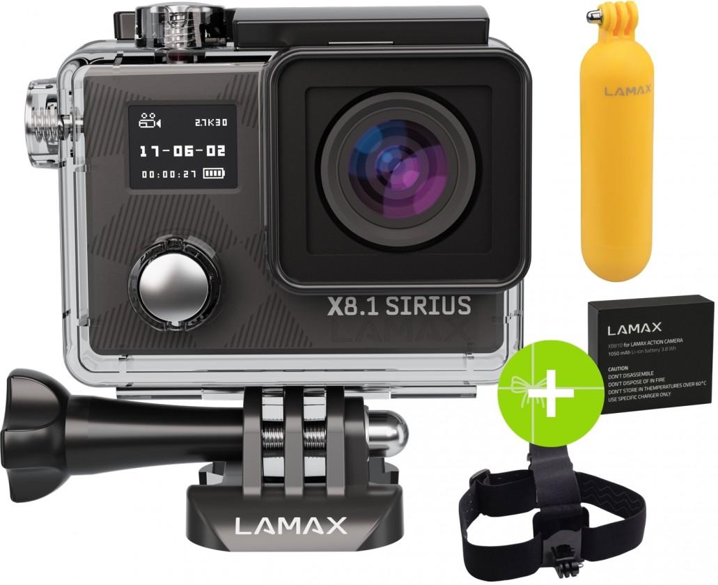 Outdoorová kamera LAMAX X8.1 Sirius ROZBALENÉ